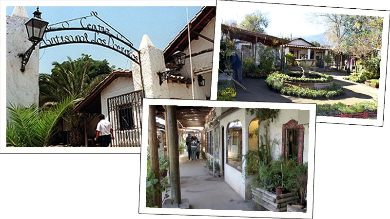 ... conhecer uma feirinha onde você pode encontrar todo o tipo de  artesanato típico do Chile. A feira chama-se Centro Artesanal Los  Dominicos, localizada na ... e3f49e8188