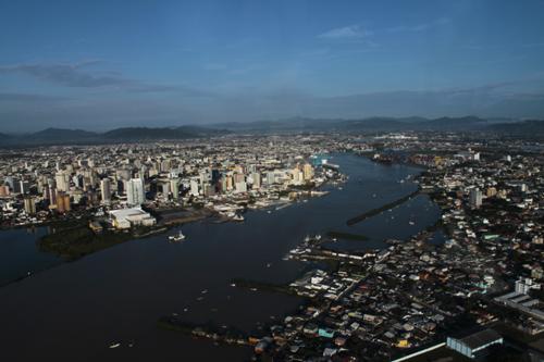 Expedição Vida - paisagens aéreas litoral catarinense 11