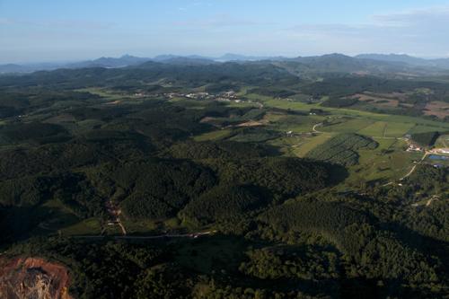 Expedição Vida - paisagens aéreas litoral catarinense 17