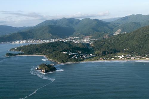 Expedição Vida - paisagens aéreas litoral catarinense 2