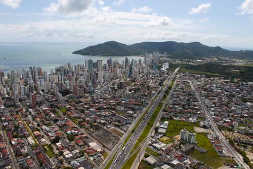 Expedição Vida - paisagens aéreas litoral catarinense 32