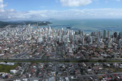 Expedição Vida - paisagens aéreas litoral catarinense 33