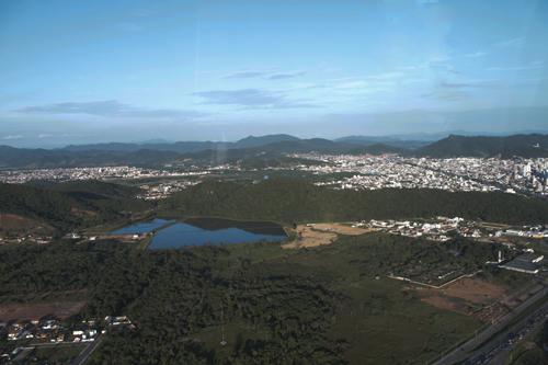 Expedição Vida - paisagens aéreas litoral catarinense 4
