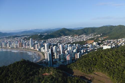 Expedição Vida - paisagens aéreas litoral catarinense 6