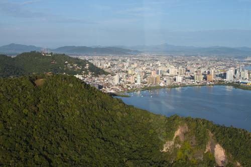 Expedição Vida - paisagens aéreas litoral catarinense 9