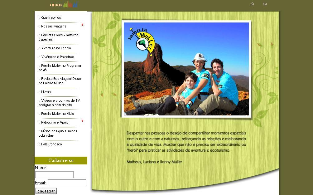 site Família Muller