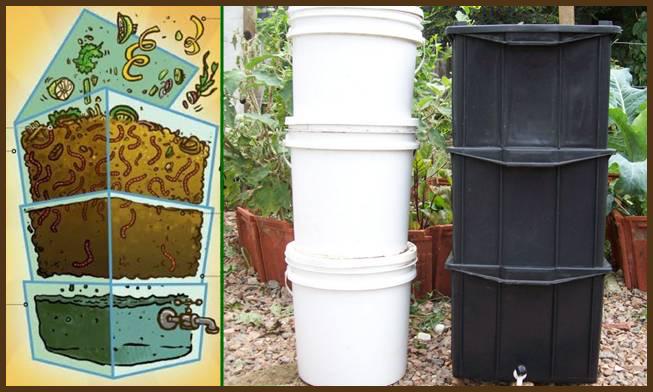 compostagem - minhocário
