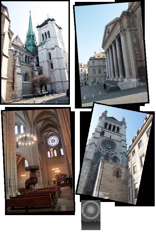 Expedição Vida - Catedral Saint-Pierre - Genebra