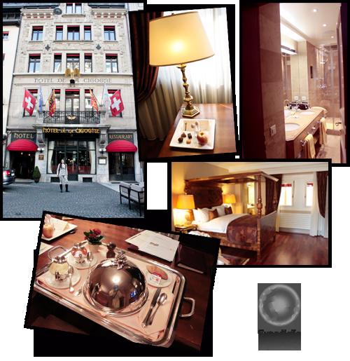Expedição Vida - Hotel de la Cigogne - Genebra