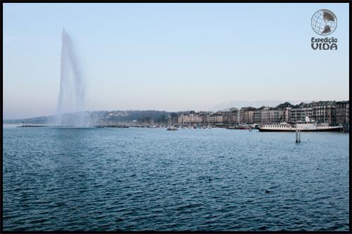 Expedição Vida - Jet d' Eau - Genebra