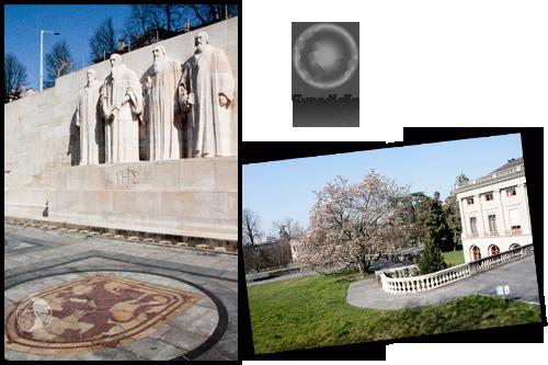 Expedição Vida - Muro dos Reformadores - Genebra
