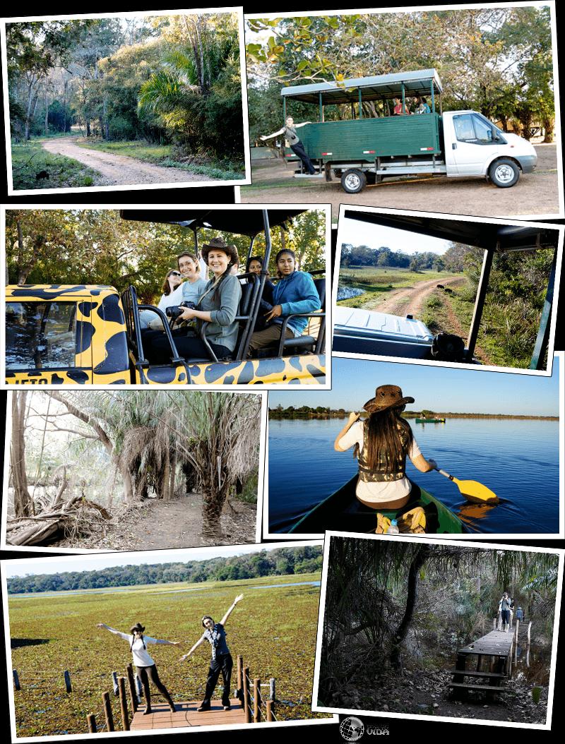Expedição Vida - atividades no Refúgio Ecológico Caiman
