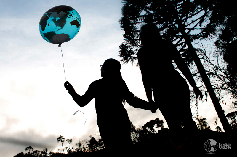 Expedição Vida - Educação Ambiental - crianças